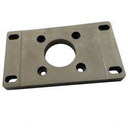 CNC 3D - Flangia per Motore 80x140x12mm