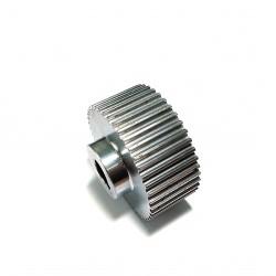 CNC 3D - Puleggia Dentata in Acciaio - 44 Denti da 2.60mm Passo 5mm