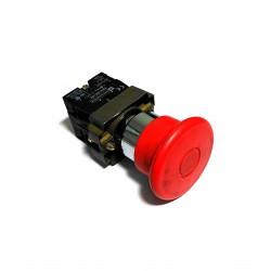 TELEMECANIQUE - Pulsante di Emergenza A Fungo - Ø Testa 40mm 2NC 10A 600V