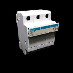 HAGER L503 - Portafusibile 3-Poli 10.3x38mm 32A 500V
