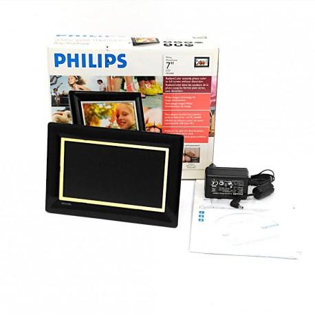 "PHILIPS 7FF3FPB - Cornice Digitale - Photo Frame 7"" LCD - Nero"