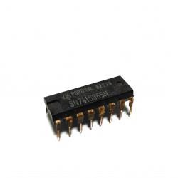 2 x Inverter e Buffer SN74LS365N 16-PDIP 4.75-5.25V