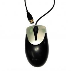 GENIUS GM-050008P - Mouse a 2 Pulsanti + Rotellina di Scorrimento con Cavo USB