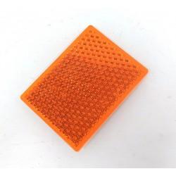 NUOVA LAGOPLAST - Catadiottro Per Segnaletica 100x70mm - Arancione