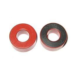 Ferrite Toroide Core Rosso/Grigio Case Plastico 178-84-80mm