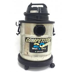 GISOWATT COMPETITOR 20 - Aspiratutto Wet & Dry Acciaio Inox 20L