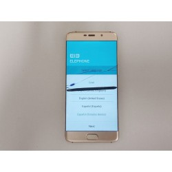 """ELEPHONE S7 - Smart Phone Deca Core 5.5"""" - Android 7 - GOLD - Display Rotto"""