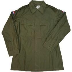 KL 8405-17-050-4750 - Camicia/Giacca Esercito Olandese 100% Cotone - Verde Militare