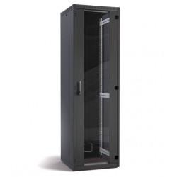 "Datwyler Cables DNRS - Armadio Server Rack 19"" con Porta in Vetro 42U - 600x800x2100mm - Nero"