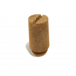 4x Silenziatori Pneumatici in Bronzo Ingresso G 1/2 Maschio 10bar