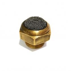 2x Silenziatori Pneumatici in Acciaio Inox Ingresso G 1/2 Maschio 12bar