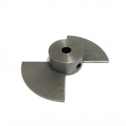 CNC 3D - Puleggia in Acciaio 79.2mm