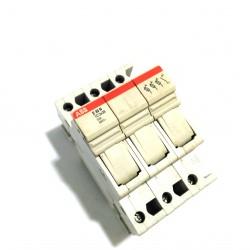 ABB E33N - Portafusibile 10.3X38mm 32A 400V