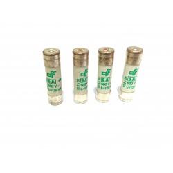 DF ELECTRIC 440106 - 4x Fusibili Cilindrici 10.3x38mm 6A aM 500V