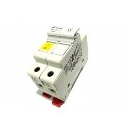 DF ELECTRIC 480232 - Portafusibile 2Poli PMF 10x38mm 32A 690V - Bianco