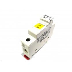 DF ELECTRIC 480032 - Portafusibile 1Poli PMF 10x38mm 32A 690V - Bianco