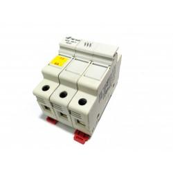 DF ELECTRIC 480332 - Portafusibile 3Poli PMF 10x38mm 32A 690V - Bianco