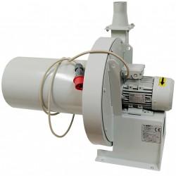 VEBAIR 400/80 - Aspiratore Estrattore Centrifugo Industriale 380V 2.2KW 650M3/H 2800RPM