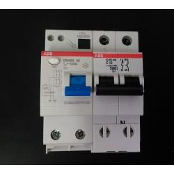 ABB DDA202-C10 - Interruttore Magnetoermico C10 + Blocco Differenziale 25A 30mA AC