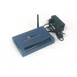Hamlet HRDSL512W - Router Wireless ADSL 2 con Switch 4 Porte 10/100