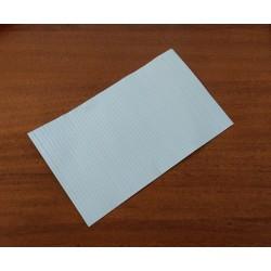 2000 x Laccetto Rivestito in Plastica Alimentare Multiplast S:50 120mm - Bianco