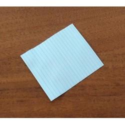 2500 x Laccetto Rivestito in Plastica Alimentare Multiplast S:20 75mm - Bianco