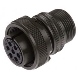 Amphenol MS3106A-16S-1S - Connettore Circolare 7 Poli Maschio Diritto