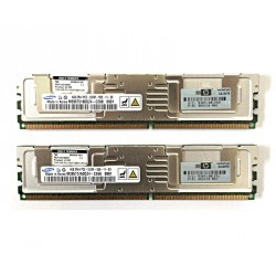 HP 398708-061 - 8GB Fully Buffered PC2-5300 2x4GB DDR2 ECC per Srever Kit