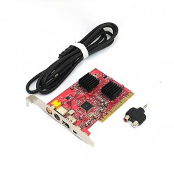 VideoHome DV/AV-twins-Digital Firewire-Analog Video Capture-DV/AV Capture PCI Card Windows
