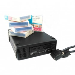 KIT BACKUP - HP Ultrium448 Ext SCSI DW017B + 5xCassetta 200Gb HP C7971A + Cavo SCSI 416704-001 2,50Mt
