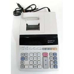 SHARP Calcolatrice da Tavolo EL-2607PC - 2 Colori 12 Cifre 4.3 Linee per Secondo