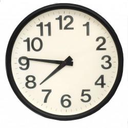 Orologio da Parete Bianco/Nero D:40.5cm