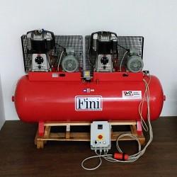 FINI 119-500F-11/T - Compressore Bistadio Serbatoio 500LT 11HP 8KW