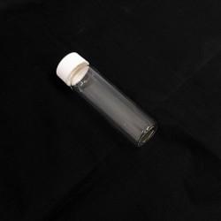 Boccetta in Vetro Borosilicato con Capsula Bianca per Analisi Gascromatografiche - 50ml