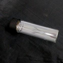 Boccetta in Vetro Borosilicato con Capsula Nera per Analisi Gascromatografiche - 50ml