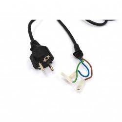 LONGWELL - Cavo di Alimentazione LFC-3R 3G 0.75mm2 16A 250V - Nero - 1.90Mt