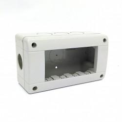 Bticino 24404 - Custodia IDROBOX IP40 4 Moduli - Grigio