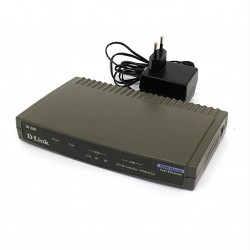 D-LINK DI-300 - ISND Router Fast Ethernet + Alimentatore