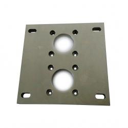 CNC 3D - Flangia per Motore 160x160x12mm
