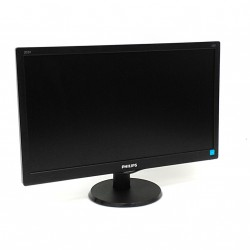 PHILIPS 203V5LSB26/10 - Monitor LCD 19,5 Pollici con Cavi - Nero