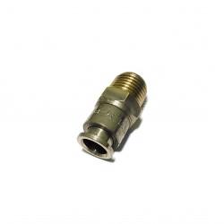 """SISTEM-PNEUMATICA 104080T - Raccordo Filettato Maschio 1/4"""" per Tubo da 8mm"""