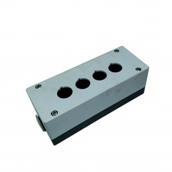 CNC 3D - Scatola per Pulsanti da 22mm in Plastica - 72x18x64mm