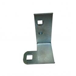 CNC 3D - Support a L in Alluminio 53x3x77mm
