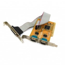 SUNIX MIO5079A - Controller Card PCI 2-Port Serial RS-232 + 1-Port Parallel IEE1284