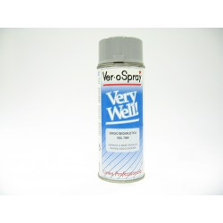 Bomboletta VeroSpray Very Well RAL 7004 Grigio Segnale 400ml