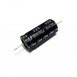 ITT FHW472M16 - Condensatore Elettrolitico 4700uF 16V