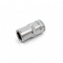 USAG 235 - Chiave a Bussola Esagonale-Attacco Quadrato 1/4E 8mm-Vanadium Usag Extra