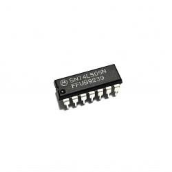 2 x Inverter SN74LS05N 14-PIDP 8mA 4.75-5.25V