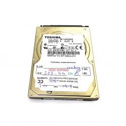 Toshiba MK165GSX - Hard Disk 160GB HDD2H85 SATA 2.5 Gb/s 5V 1A