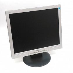 """PHILIPS 170S8F/00 - Monitor LCD 17"""" con Cavi"""